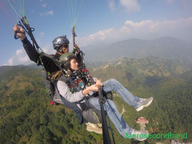 Paragliding service adventure, kathmandu pokhara nepal - 1/2