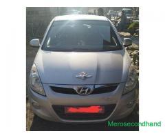 Hyundai i20 car on sale at pokhara nepal