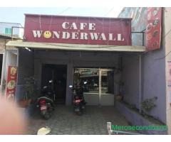 Well running cafe restaurent in sale at kathmandu