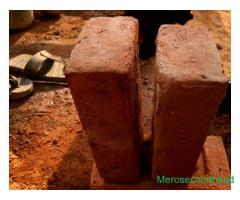 Bricks itta good quality for sale at damauli tanahun nepal