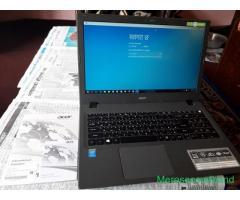 Aspire E15 laptop on sale at kathmandu nepal