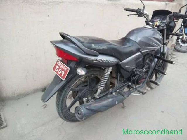 Hero honda shine bike on sale at kathmandu - 3/4
