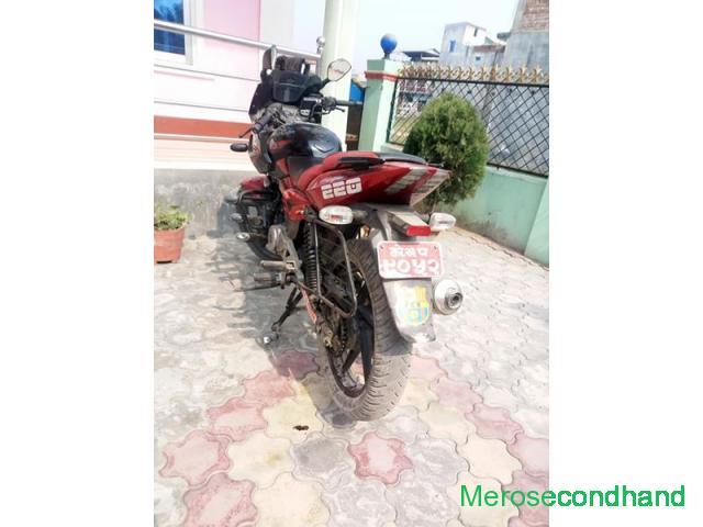 220 pulsar bike on sale at halgada itahari koshi nepal - 1/4