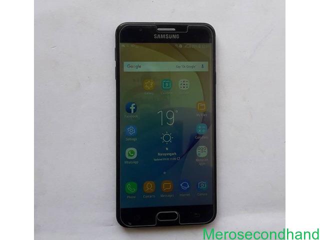 Samsung J7 prime 32Gb on sale at bharatpur chitwan nepal - 1/2