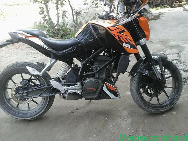 Ktm duke bike on sale at jhapa nepal - 1/3