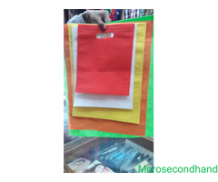Natural Fabric shopping bags on sale at pokhara