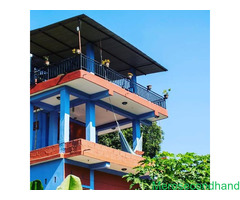 Guest house on rent at Majhikuna Begnas