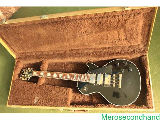Gibson les paul - High copy with hard cover guitar on sale at kathmandu - 1/4