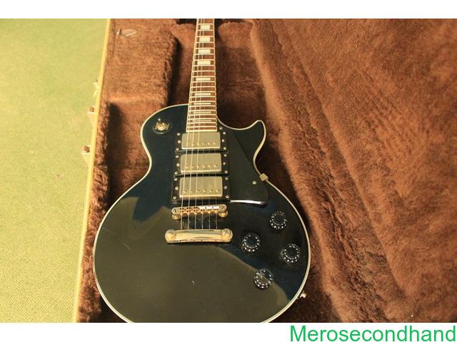 Gibson les paul - High copy with hard cover guitar on sale at kathmandu - 2/4