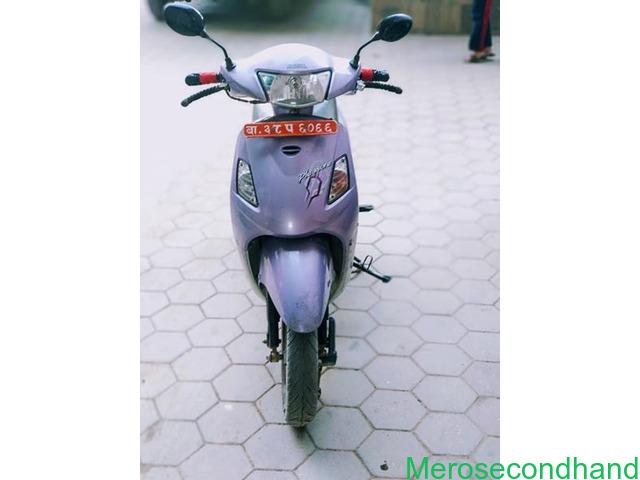 Hero Pleasure scooty on sale at kathmandu - 2/3