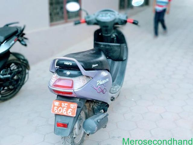 Hero Pleasure scooty on sale at kathmandu - 3/3