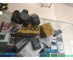 Nikon D3400 DSLR camera on sale at kathmandu