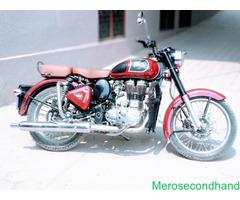 Royale enfield 350 classic on sale at kathmandu