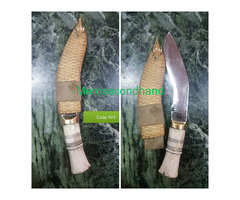 Khukuri on sale at pokhara nepal