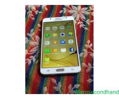 Samsung J7 mobile on sale at pokhara