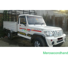Bolero pickup van on sale at lalitpur nepal