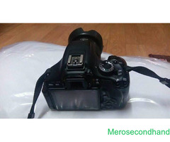 canon 600D camera on sale at kathmandu - Image 1/2