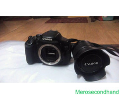 canon 600D camera on sale at kathmandu - Image 2/2