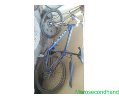 Secondhand bicycle on sale at kathmandu