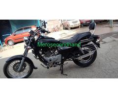 Bajaj Avenger bike on sale at kathmandu