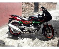 Pulsar 220f red n black bike on sale at kathmandu