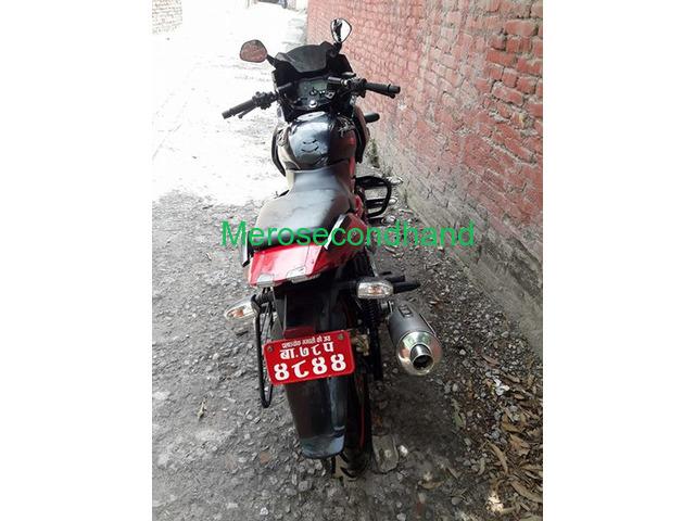 Pulsar 220f red n black bike on sale at kathmandu - 4/4