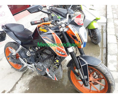 Ktm duke on sale at bhaktapur nepal