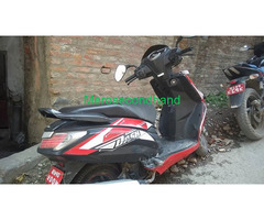 Hero dash secondhand scooter on sale at kathmandu nepal