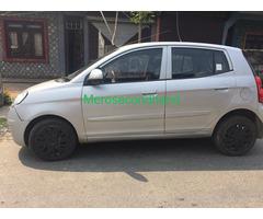 Secondhand kia picanto car on sale at pokhara nepal
