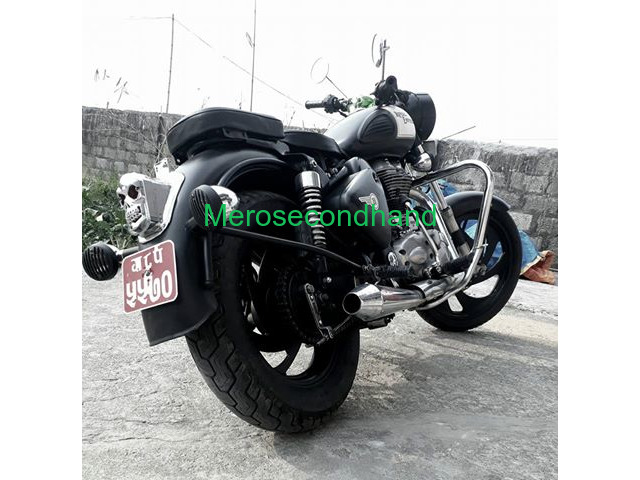 Secondhand royal enfield 350 classic bike on sale at pokhara - 1/3