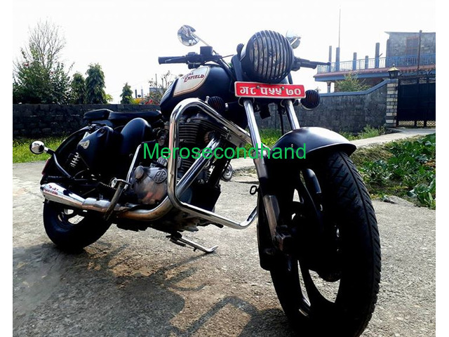 Secondhand royal enfield 350 classic bike on sale at pokhara - 2/3