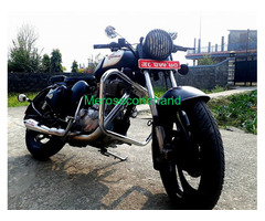 Secondhand royal enfield 350 classic bike on sale at pokhara