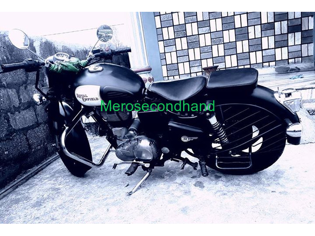 Secondhand royal enfield 350 classic bike on sale at pokhara - 3/3