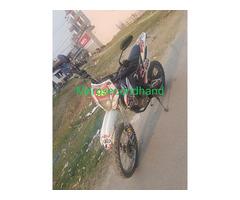 Secondhand dirt bike on sale at kathmandu nepal