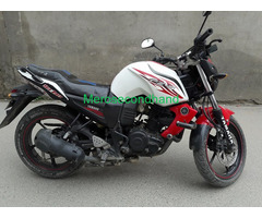 Secondhand yamaha fzw bike on sale at kathmandu