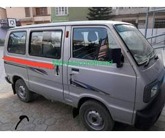 Secondhand Maruti omni van on sale at kathmandu