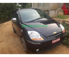 Secondhand used spark car on sale at lalitpur