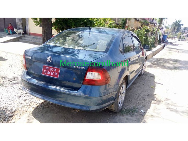 Secondhand - used skoda car on sale at butwal nepal - 4/4
