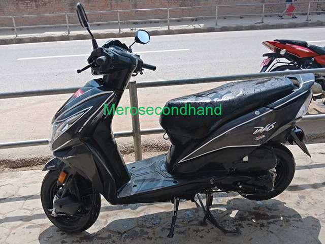 Secondhand honda dio scooter / scooty on sale at kathmandu - 1/4