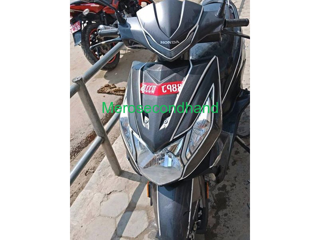 Secondhand honda dio scooter / scooty on sale at kathmandu - 3/4