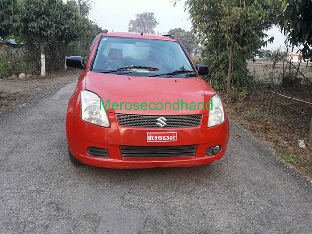 Secondhand maruti swift semi option car on sale at chitwan nepal - 2/2