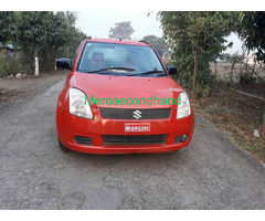Secondhand maruti swift semi option car on sale at chitwan nepal