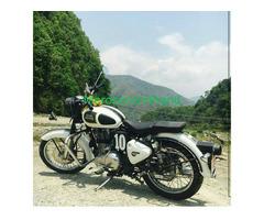 Secondhand Bullet - royal enfield bike on sale at pokhara nepal