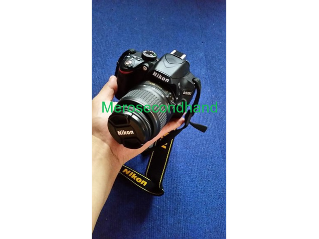 Secondhand DSLR Nikon camera on sale at pokhara - 1/6