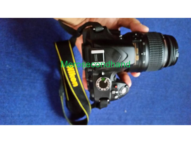 Secondhand DSLR Nikon camera on sale at pokhara - 3/6