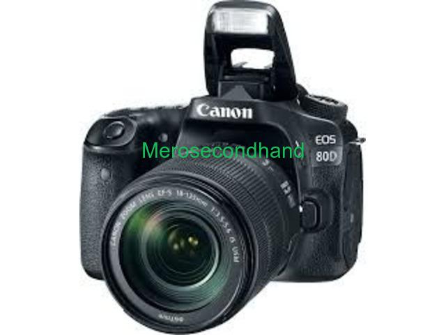 Secondhand canon DSLR camera on sale at kathmandu - 1/1