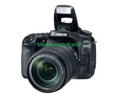 Secondhand canon DSLR camera on sale at kathmandu
