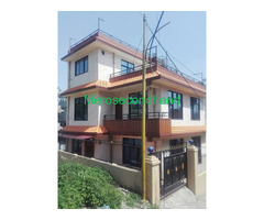 Real estate house on sale at lubhu lalitpur