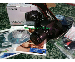 Secondhand canon 600d dslr camera on sale at kathmandu