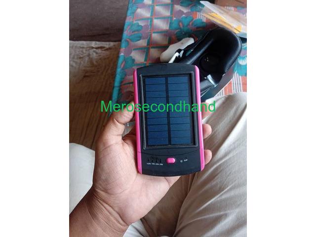 Used VR box + solar power bank on sale at kathmandu - 1/4
